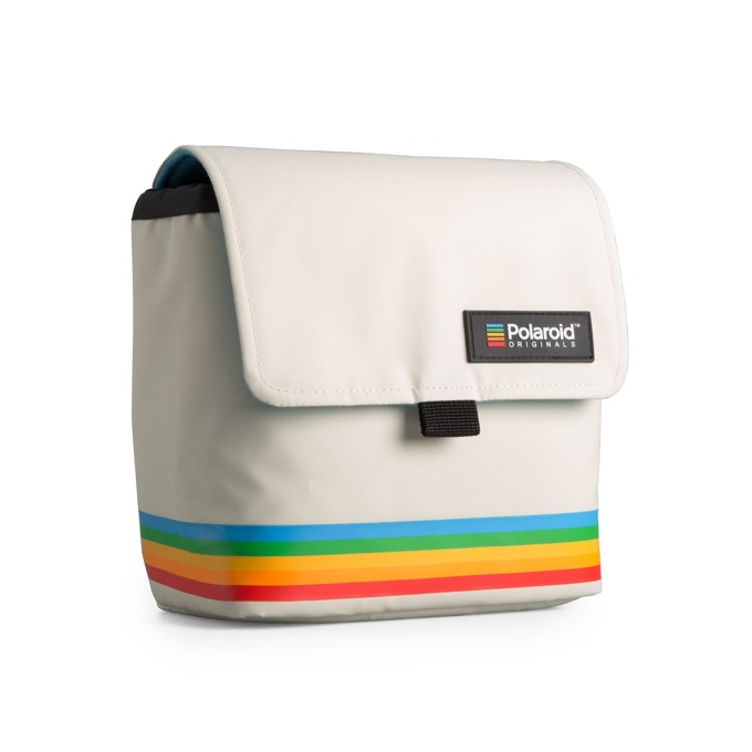 Чанта за фотоапарат Polaroid Box Camera Bag White, за Polaroid фотоапарати, бяла image