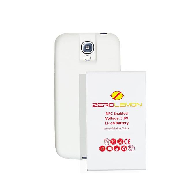 Протектор ZeroLemon с батерия за Samsung Galaxy S4, бял image