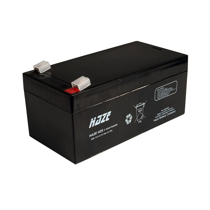 Акумулаторна батерия Haze (HZS12-3.3), 12V, 3.3Ah, AGM image