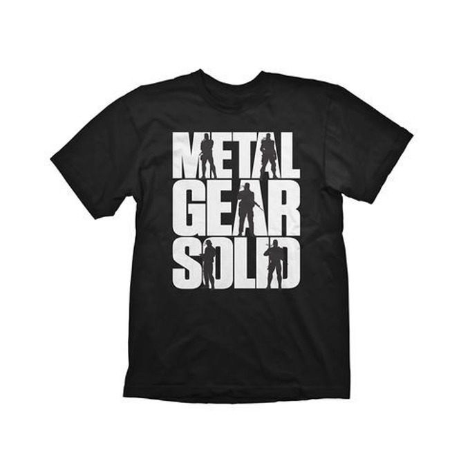 Тениска Metal Gear Solid Logo,Size XL image
