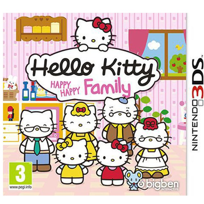 Hello Kitty: Happy Happy Family, за 3DS image