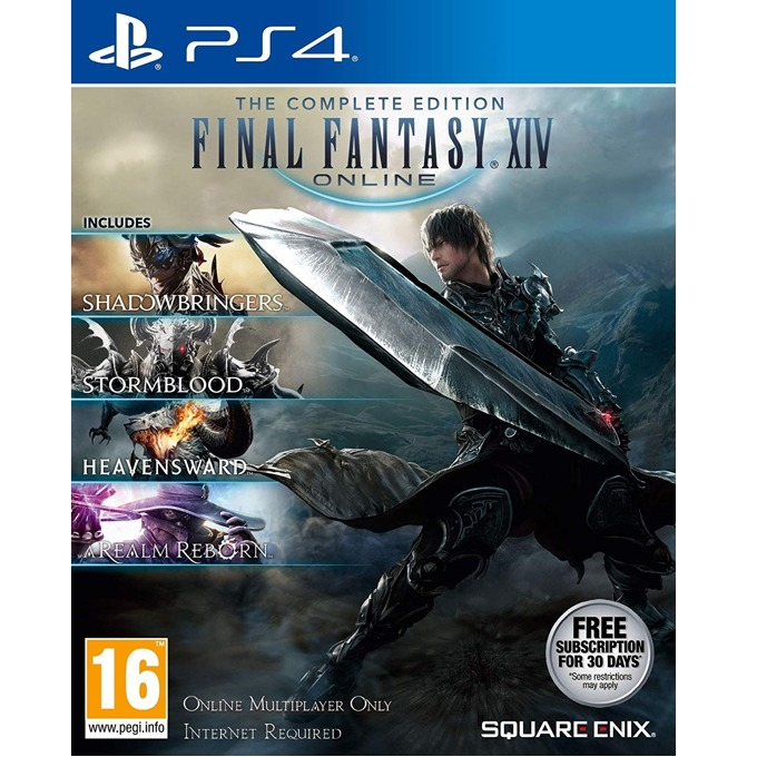 Final Fantasy XIV Shadowbringers Complete PS4 product