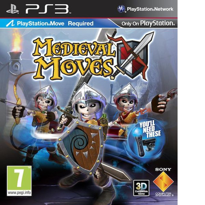 Игра за конзола Medieval Moves: Deadmund's Quest - Move, за PlayStation 3  image