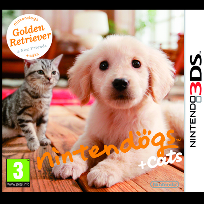 Nintendogs + Cats: Golden Retriever & New Friends, за 3DS image