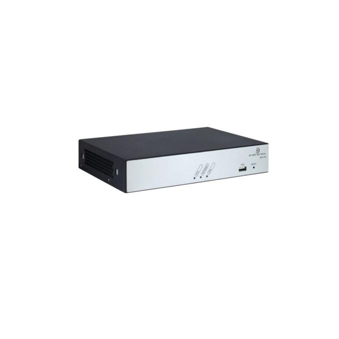 Рутер HPE MSR930 JG511B, 1x WAN 10/100/1000, 4x LAN 10/100/1000, 256MB SDRAM, 128MB Flash памет, 1x USB Type A image