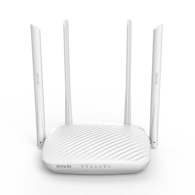 Рутер Tenda F9, 600Mbps, 2.4GHz(600 Mbps), Wireless N, 3x LAN100, 1x WAN100, 4x 6dBi външни антени image