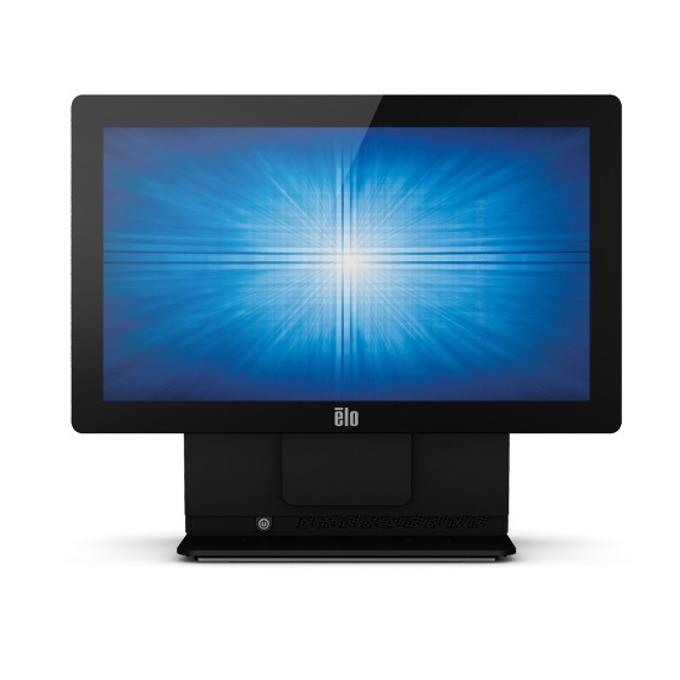 """Тъч компютър ELO E353362 ESY15E2-4UWD-0-ST-4G-1S-W1-64-BK, 15""""(38.1 cm) мулти-тъч сензорен дисплей, четириядрен Bay Trail Intel® Celeron® J1900 2.0/2.42GHz, 4GB DDR3L, 128GB SSD, 4x USB 2.0, Windows 10 image"""