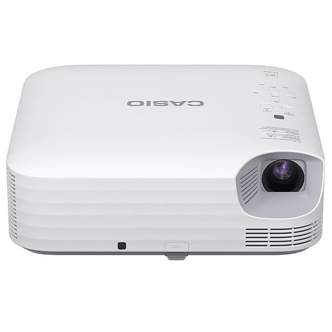 Проектор Casio XJ-S400WN, DLP, WXGA(1280 × 800), 20 000:1, 4000 lm, HDMI, VGA, USB, бял image