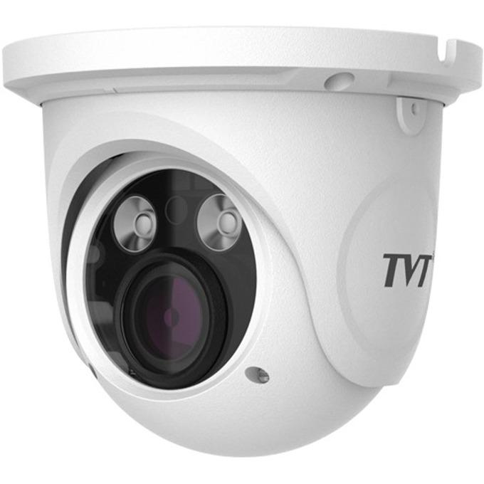 IP камера TVT TD-9525S1(D/FZ/PE/AR2), куполна, 1920 x 1080(2.0MP@25 кад./сек.), моторизиран обектив 2.8 - 12mm, H.264, IR осветление до 30 метра, вътрешна/външна, PoE 802.3af. image