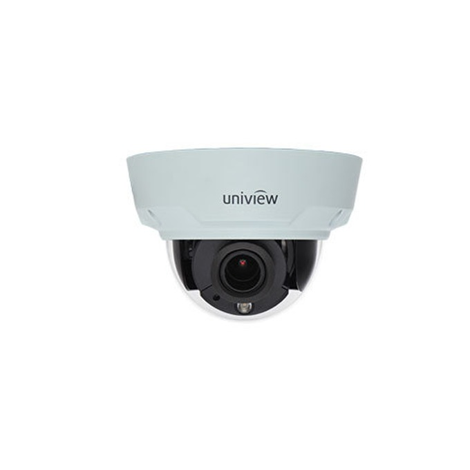 IP камера UniView IPC342E-VIR-Z-IN, куполна, 2 Mpix(1920×1080@30FPS), 3 to 10.5mm обектив, H.264,MJPEG, IR осветеност (до 30м), външна вандалоустойчива IK10 и IP66 защита, PoE, RJ-45 (10/100Base-T) image
