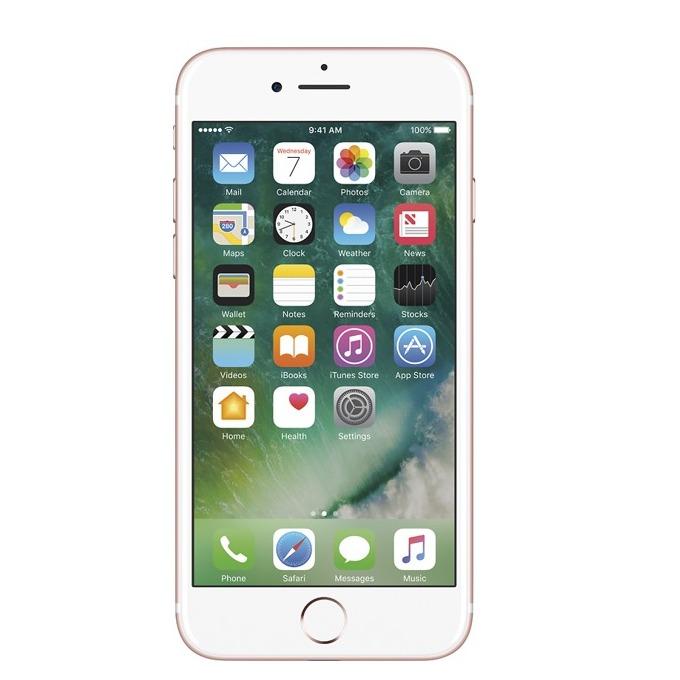 "Apple iPhone 7 (Rose Gold)(second hand), 4.7"" (11.93 cm) Retina HD IPS Display, четириядрен A10 Fusion 2.34 GHz, 2GB, 32GB Flash памет, 12.0 & 7.0 Mpix camera, iOS 10, 138g image"