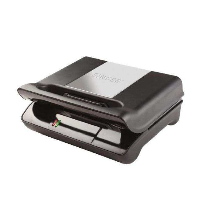 Сандвич скара Singer SM 700 DGS, 2 комплекта плочи: грил & тост, 700W, черна image