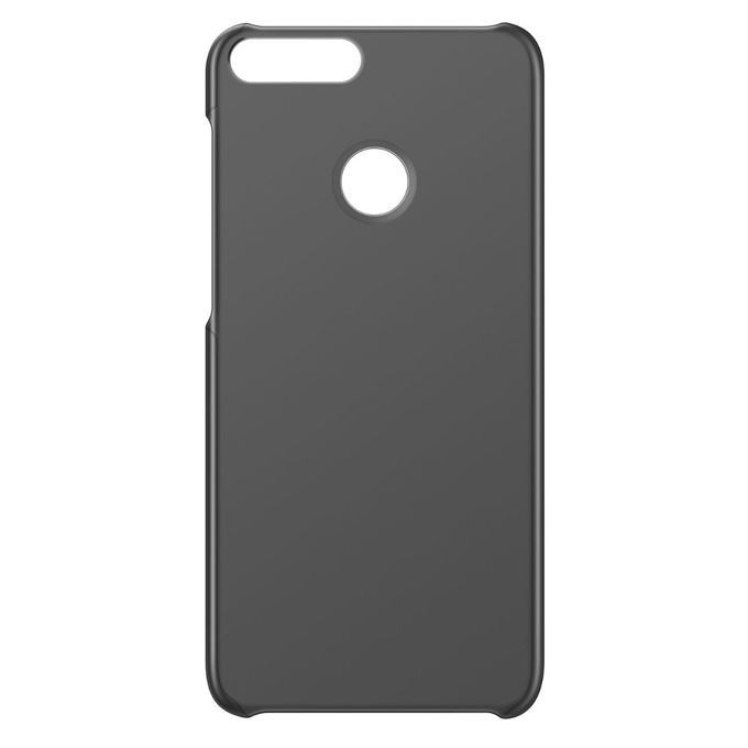 Калъф за Huawei P Smart, пластмасов, PC Protective Case, черен image