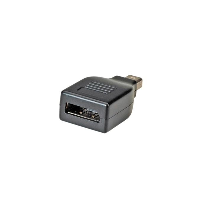 Преходник Roline 12.03.3130, от Mini DisplayPort(м) към DisplayPort(ж), черен image