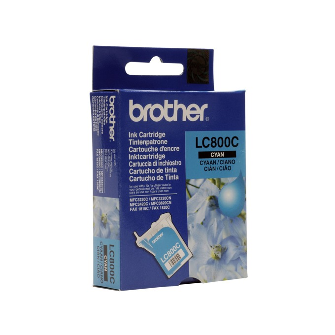 ГЛАВА ЗА BROTHER MFC 3220/3420C/ MFC3320CN/3820CN - Cyan - P№LC800C - заб.: 400k image