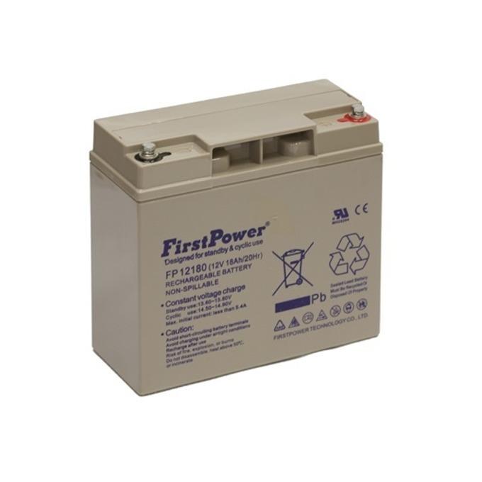 Акумулаторна батерия FirstPower MS18-12, 12V, 18Ah image