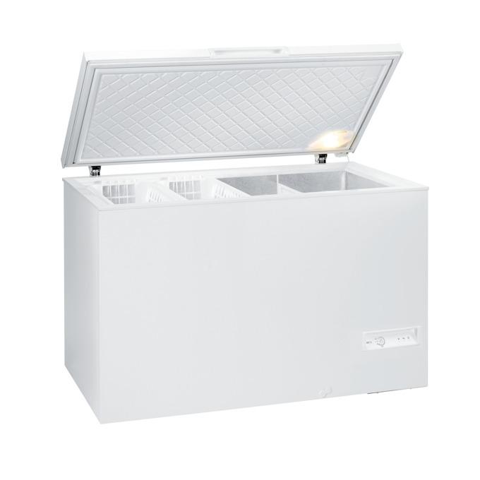 Фризер Gorenje FH 401 W, клас A+, 400 л. общ обем, свободностоящ, 314 kWh/годишно, 1 компресор, Електронно управление, FastFreeze, бял image