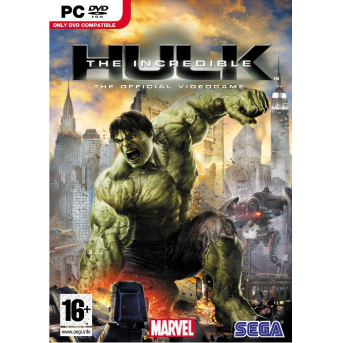 Игра The Incredible Hulk, за PC image