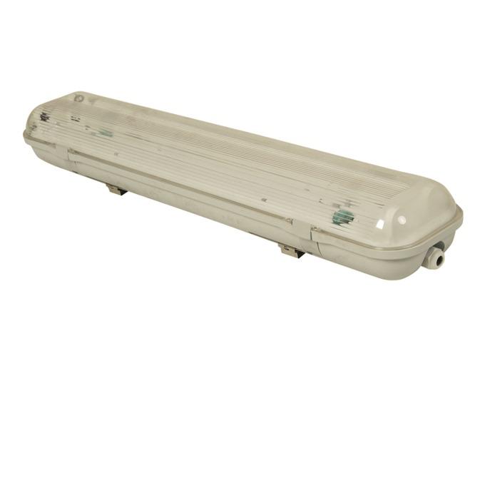 LED индустриално осветително тяло,Unikoms T06IP65NS, 20W, 2200lm, AC 220V, Студено бяла image