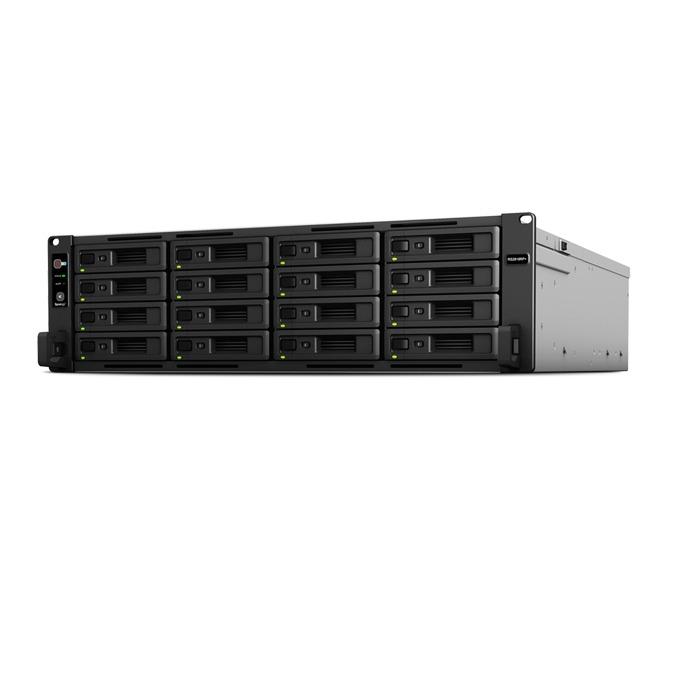 "Мрежови диск (NAS) Synology RackStation RS2818RP+, четириядрен Denverton Intel Atom C3538 2.1GHz, без твърд диск(16x 2.5""/3.5"" SATA HDD/SSD), 4GB DDR4 RAM, 4x Lan1000, 2x USB 3.0, 1x expansion ports image"