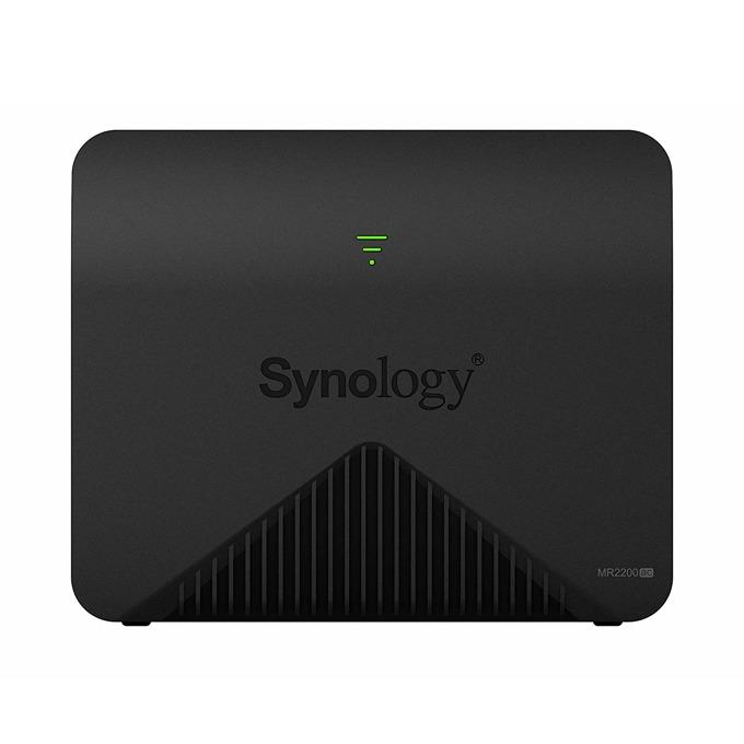 Рутер Synology MR2200ac, 2.4GHz (400Mbps)/5GHz (867Mbps)/5GHz (867Mbps), Wireless AC, 1x 10/100/1000, 1x WAN1000, 3 вътрешни антени image