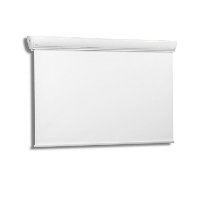 "Екран Avers AKUSTRATUS 2 24-14 MWP, стенен/таванен монтаж, Matt White P, 240 x 135 см, 104"" (264.16 cm), 16:9 image"
