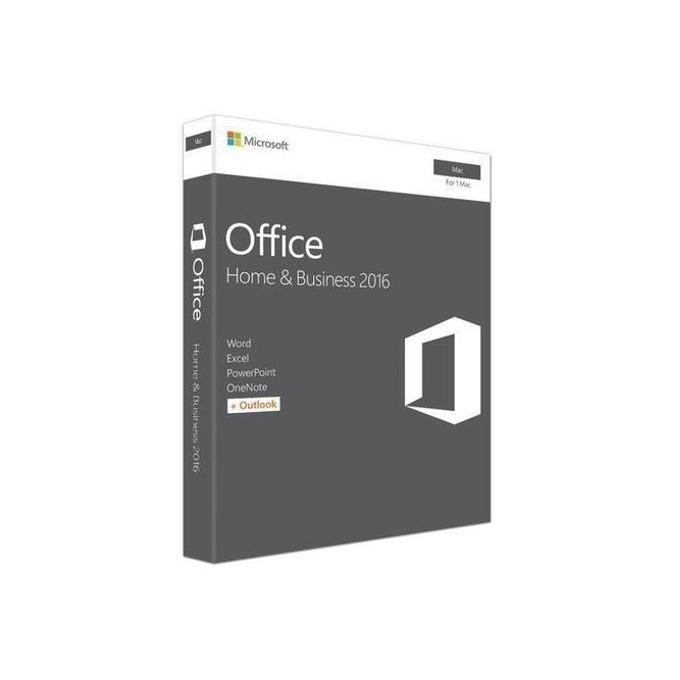Microsoft Office Home & Business 2016, Английски, за Mac OS, medialess електронен лиценз, за 1 потребител image