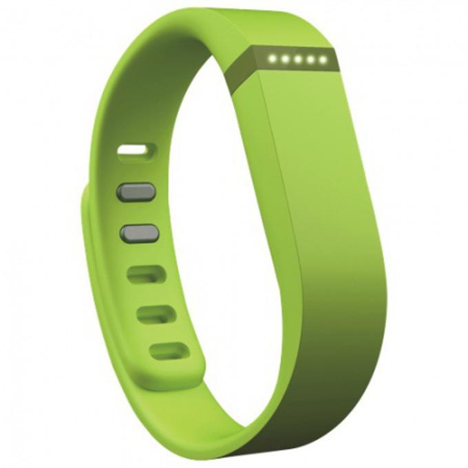 Смарт гривна Fitbit Flex Wireless Activity and Sleep, Bluetooth, Mac OS X 10.6 (или по-нова), iPhone 4S (или по-нова), iPad 3 gen. (или по-нова), Android and Windows devices, зелена image