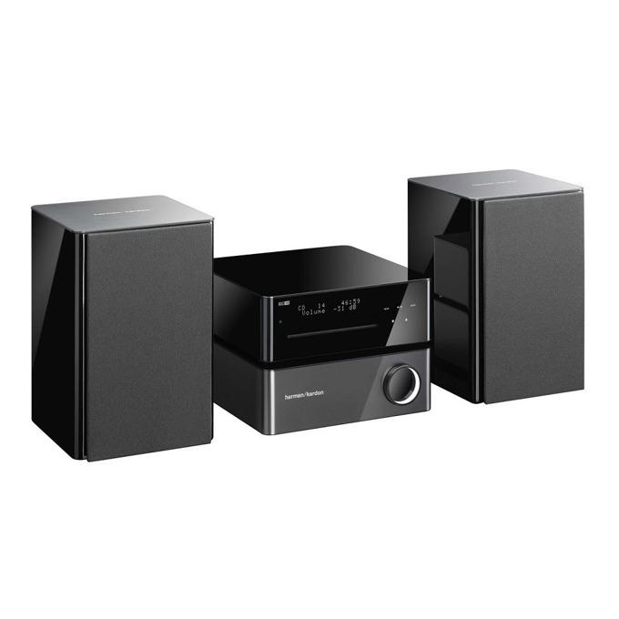 Тонколони Harman Kardon MAS 100, 2.0, 130W(2x 65W), CD плеър, поддържа MP3/WMA, USB, дистанционно, черна image