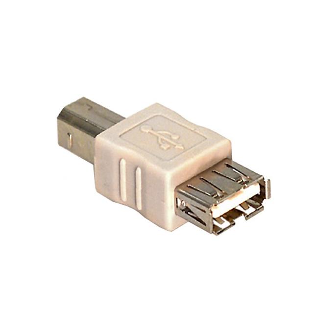 Преходник Roline 12.03.2930, от USB A(ж) към USB B(м) image