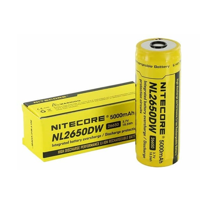Акумулаторна батерия Nitecore NL2650DW, 3.6V, 5000mAh, Li-ion, 1 бр. image