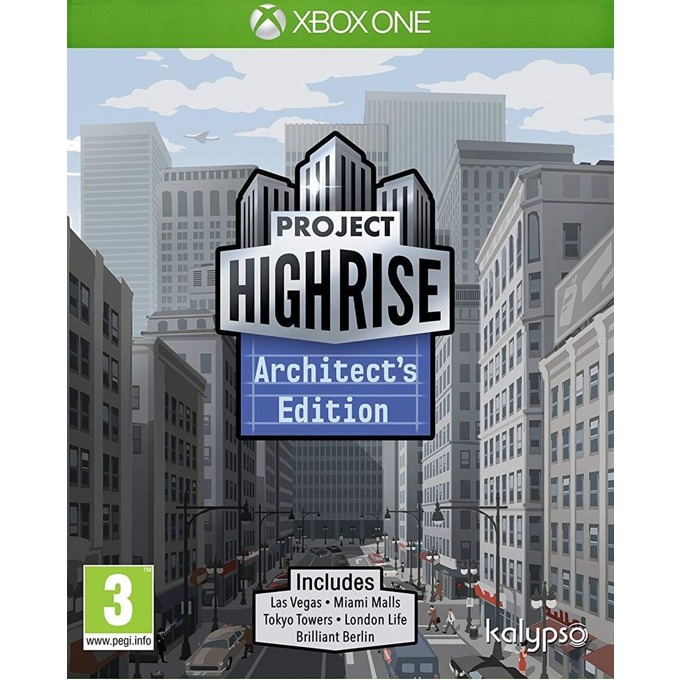 Игра за конзола Project Highrise: Architect's Edition, за Xbox One image