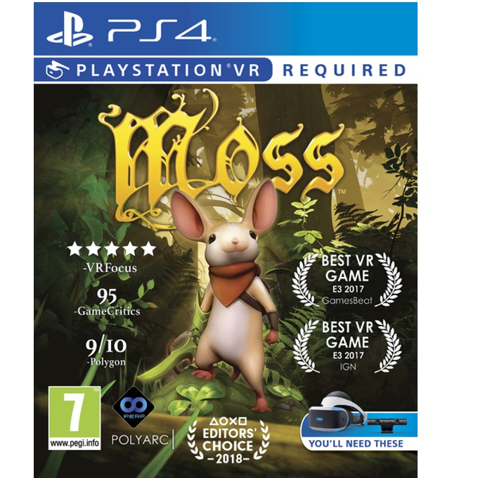 Moss VR, за PS4 VR image
