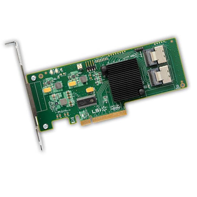 PCI-E x8, LSI SAS 9211-8i, SAS/SATA3, RAID (0,1,1E,10) image