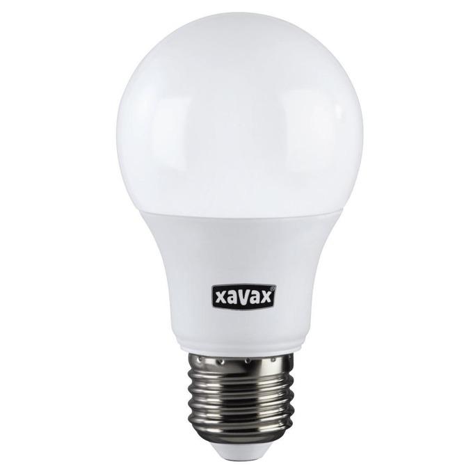 LED крушка XAVAX, E27, 60W, 806 lm, Топла, 2700K, димираща image