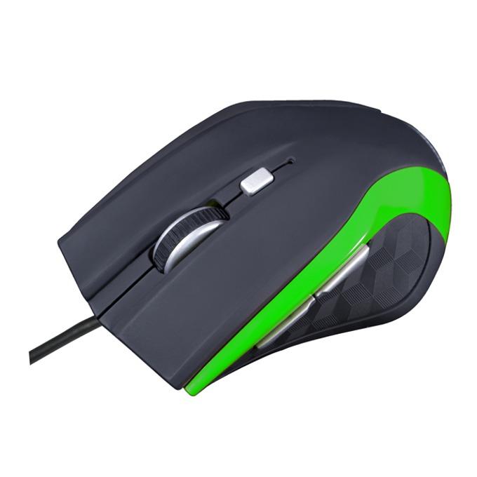 Мишка MODECOM MC-M5, оптична (2400 dpi), USB, черна image