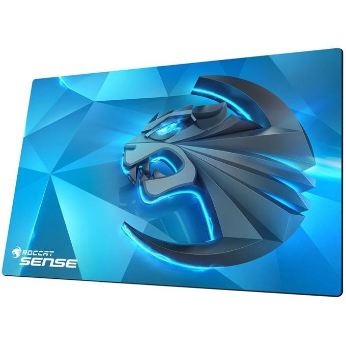 Подложка за мишка Roccat Sense Kinetic, гейминг, синя, 400 x 280 x 2mm image