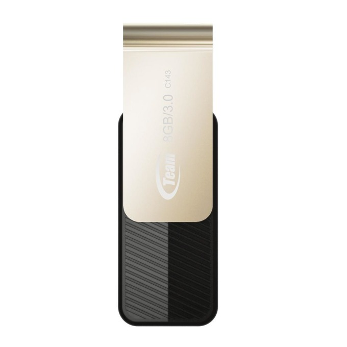 8GB USB Flash Drive, TeamGroup C143, USB 3.0, черна image