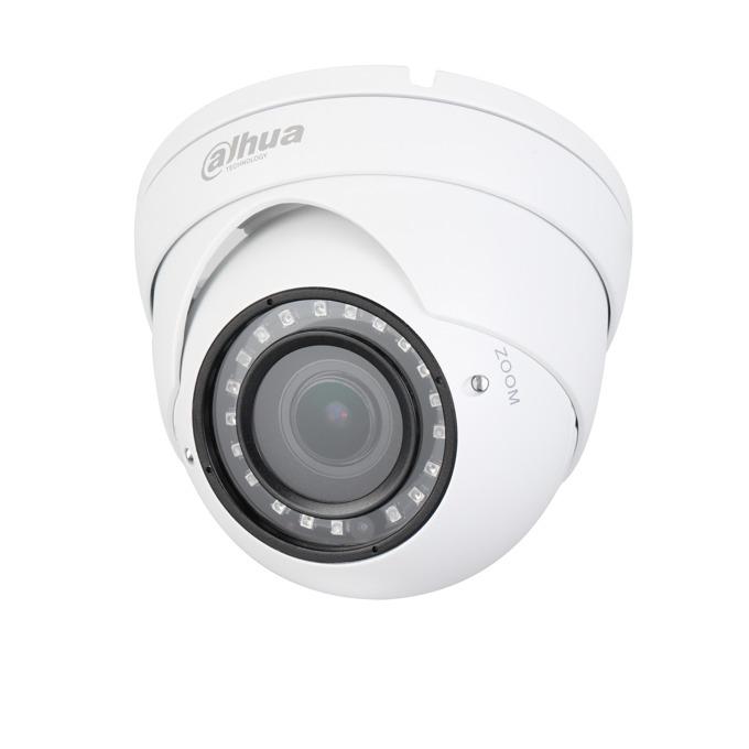 HDCVI камера Dahua HAC-HDW1400R-VF, куполна, 4.1MP Mpix(2688x1520@25FPS), 2.7-13.5mm обектив, IR осветеност (до 30 метра), външна IP67 защита image