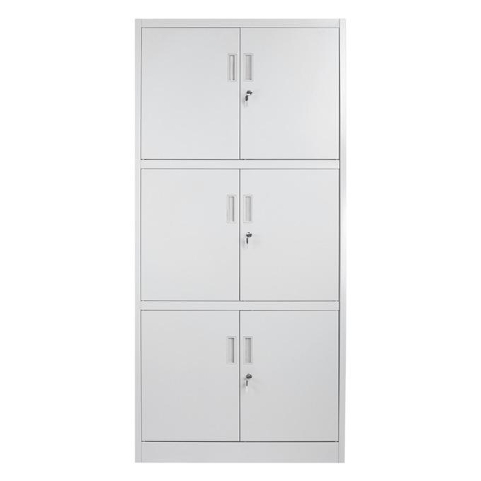 Метален шкаф Carmen CR-1260 LZ сив