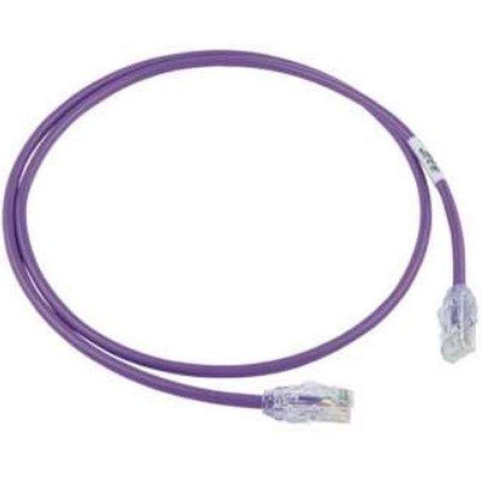 Пач кабел Panduit UTP28X1MVL, UTP, cat.6a, 1m, лилав image