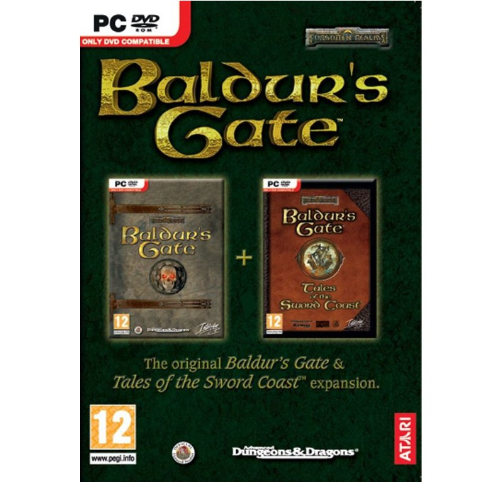 Игра Baldurs Gate and Baldurs Gate: Tales of The Sword Coast, за PC image