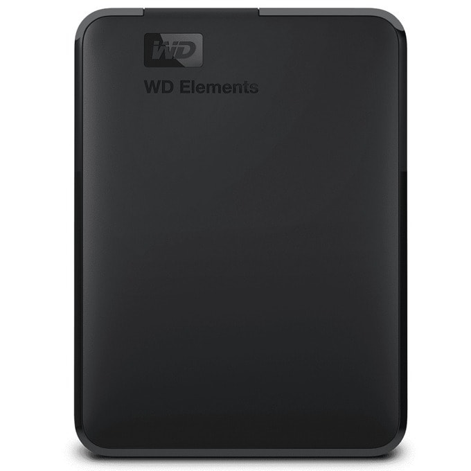 """4TB Western Digital Elements Portable (черен), външен, 2.5"""" (6.35 см), USB 3.0 image"""