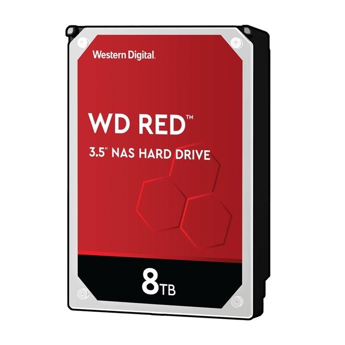 "8TB Western Digital Red NAS, SATA 6GB/s, 5400rpm, 256MB кеш, 3.5"" (8.89cm) image"