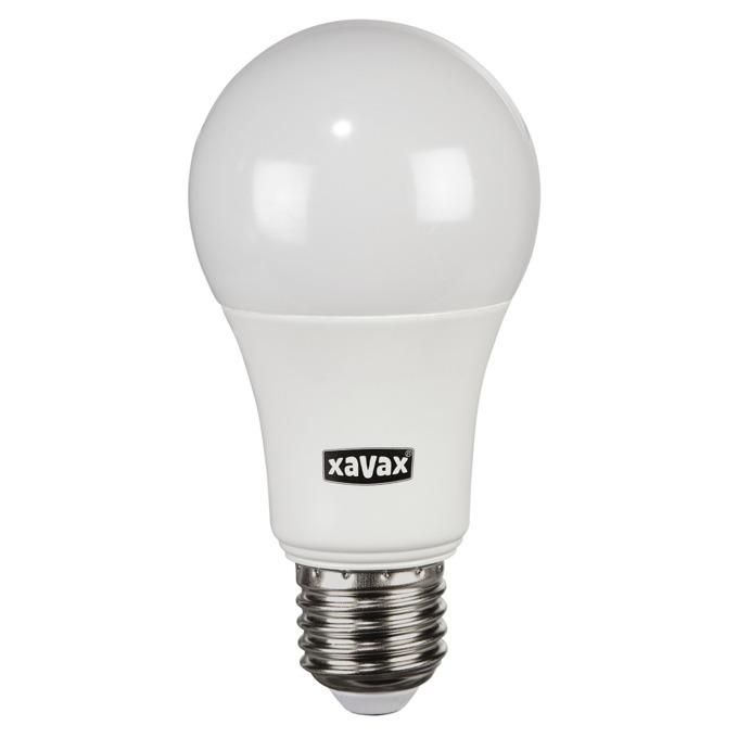 LED крушка Xavax 112288, E27, A60, 9.5W (60W), 806 lm, 2700K, топло бялa image
