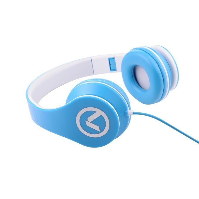 Слушалки Amplify Low Ryders AM2003/BW, микрофон, 40mm говорители, сгъваеми, 1.2м кабел, черно-сини image