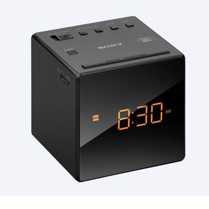 Sony ICF-C1 portable radio, black product