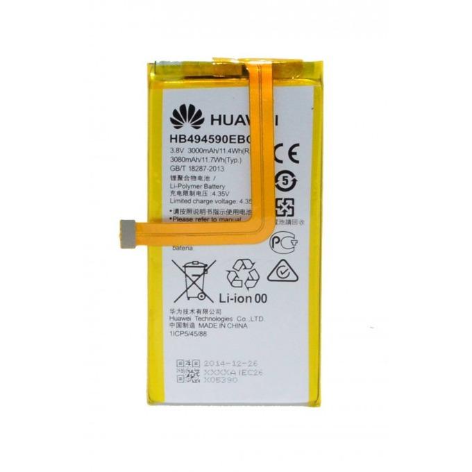 Батерия (оригинална) Huawei HB494590EBC за Huawei Honor 7, 3000mAh/3.8V, Bulk image