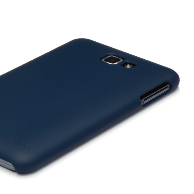 Поликарбонатов протектор Elago G4 Slim Fit Case за Samsung Galaxy Note, тъмносин, HD покритие image