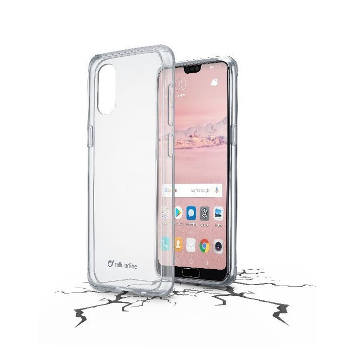 Калъф за Huawei P20 Pro, страничен протектор с гръб, гумен, Huawei P20 Pro, прозрачен image